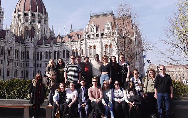 HET regional ambassadors in Budapest