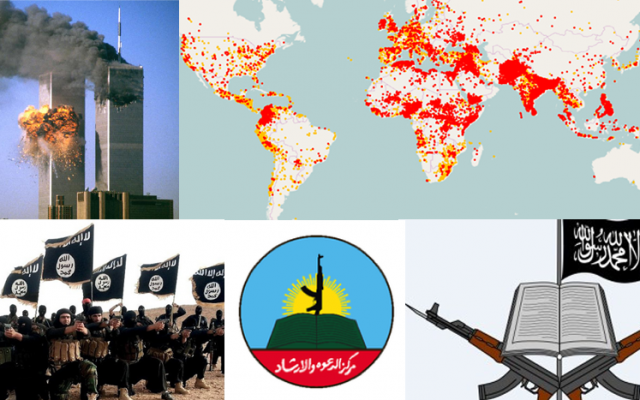 Terrorism from Pakistan to ISIS and Hamas- A retrospective approach