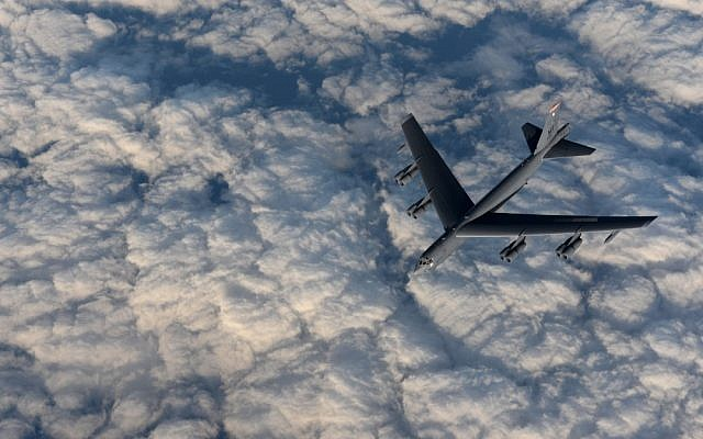 B-52 on Arctic patrol.