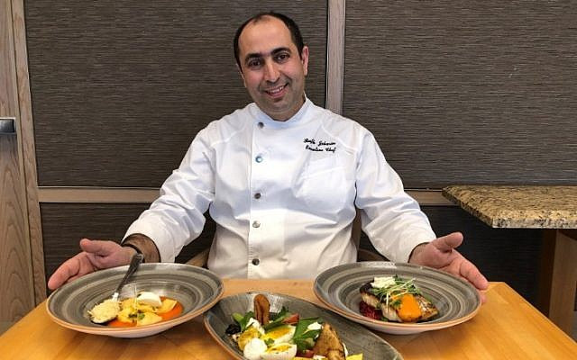 Chef Rafik Jabarin, photo: Hilton PR
