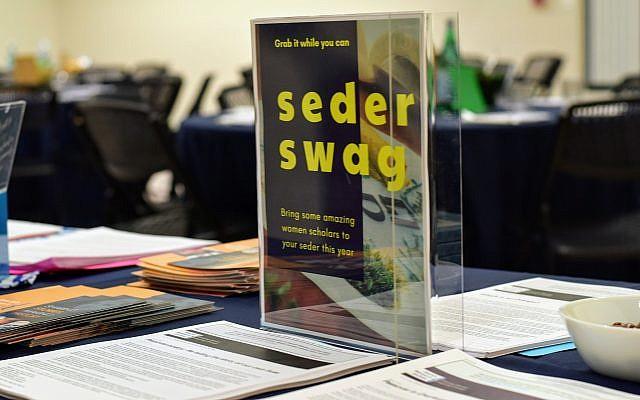 Seder Swag. (courtesy)