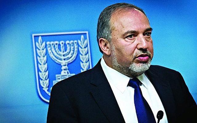 Avigdor Lieberman (Jewish News)