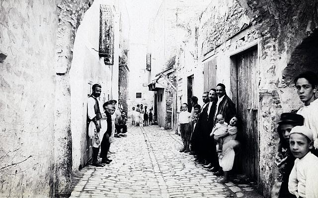 A street of the Jewish area in Tunisia, 1880 (adoc-photos/Corbis via Getty Images)