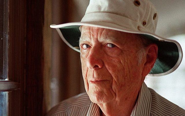 This May 15, 2000, file photo, shows author Herman Wouk in Palm Springs, California. (AP Photo/Douglas L. Benc Jr., File)