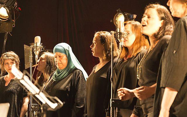 Israeli and Palestinian Women singing Hava Alberstein's Chad Gadya