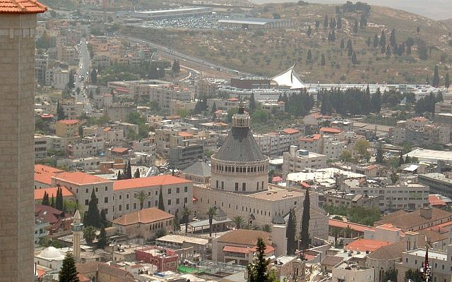 Nazareth (Wikipedia/Almog via Jewish News)