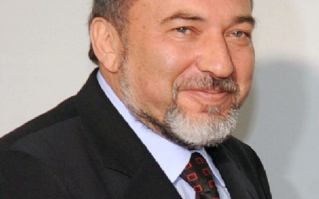 Avigdor Lieberman, the only politician who looks better when he doesn't try to smile ....