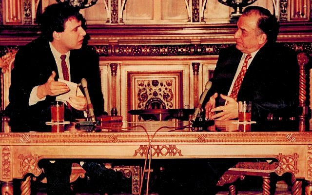 Ion Iliescu tricks author into fawning TV interview in 1991
