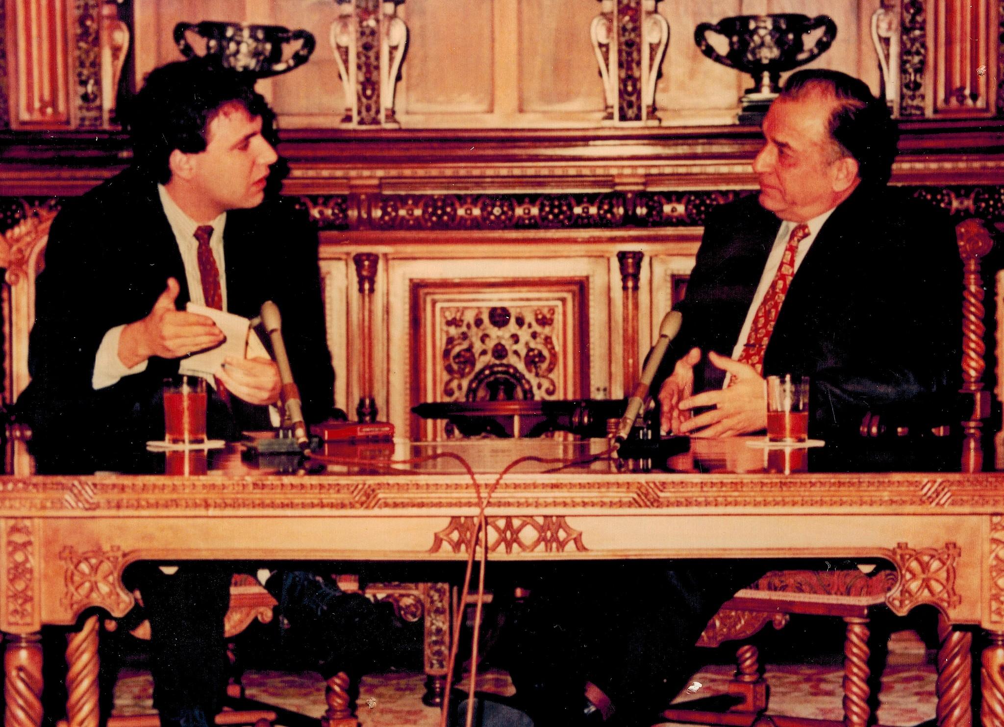 Netanyahu is Israel's Ion Iliescu