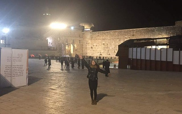 "Anyone that went to MMY with me can affirm I went to the Kotel almost every single day. Overcome by the childhood stories of its appreciation, I left behind what my mother coined, ""My best friend."""