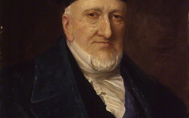 Baron Moses Montefiore, by Henry Weigall, oil on canvas, 1881.