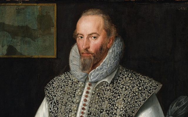 Portrait of Sir Walter Raleigh attributed to William Segar. (Public Domain/ Wikimedia Commons)