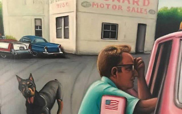 Dad at Leonard Motor Sales, 9000 S. Ashland Avenue in Chicago, 1965