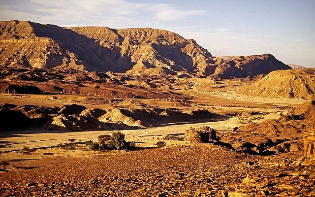 Illustrative. Sinai Desert. (Pixabay)
