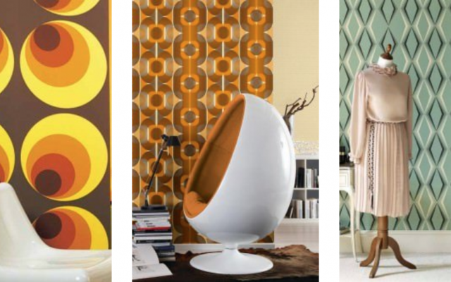 Vintage wallpaper is making a comeback thanks to TV shows and rock stars.