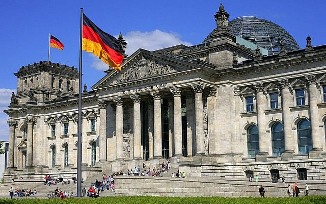 Reichstag building in Berlin, seat of the Bundestag (Jewish News)