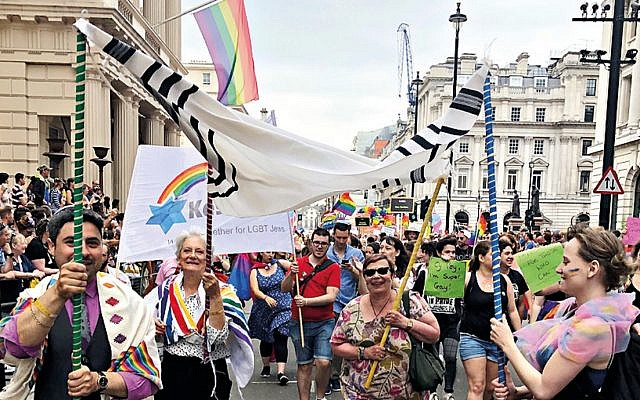 Pride in London earlier this month (Jewish News)
