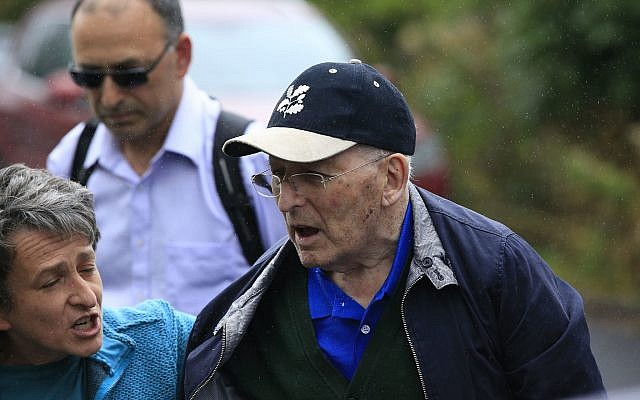 Lord Janner. (Photo credit: Jonathan Brady/PA Wire via Jewish News)