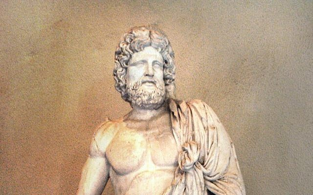 Statue of Asclepius, in the Museum of Epidaurus Theatre. (CC BY-SA, Michael F. Mehnert/ Wikimedia Commons)