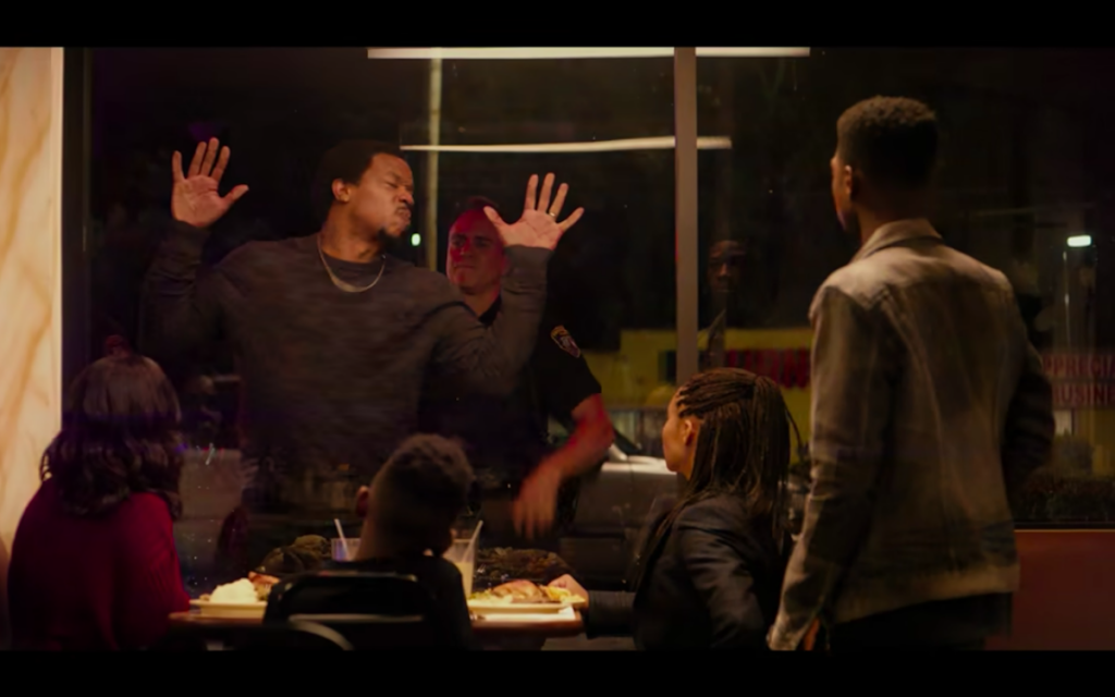 Screenshot from the film 'The Hate U Give': Same story just a different name