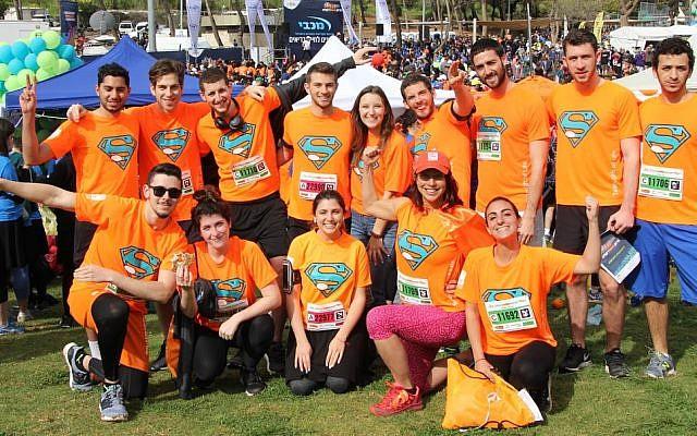 Jerusalem Marathon, March 15th, 2019. (Rachel Fine)