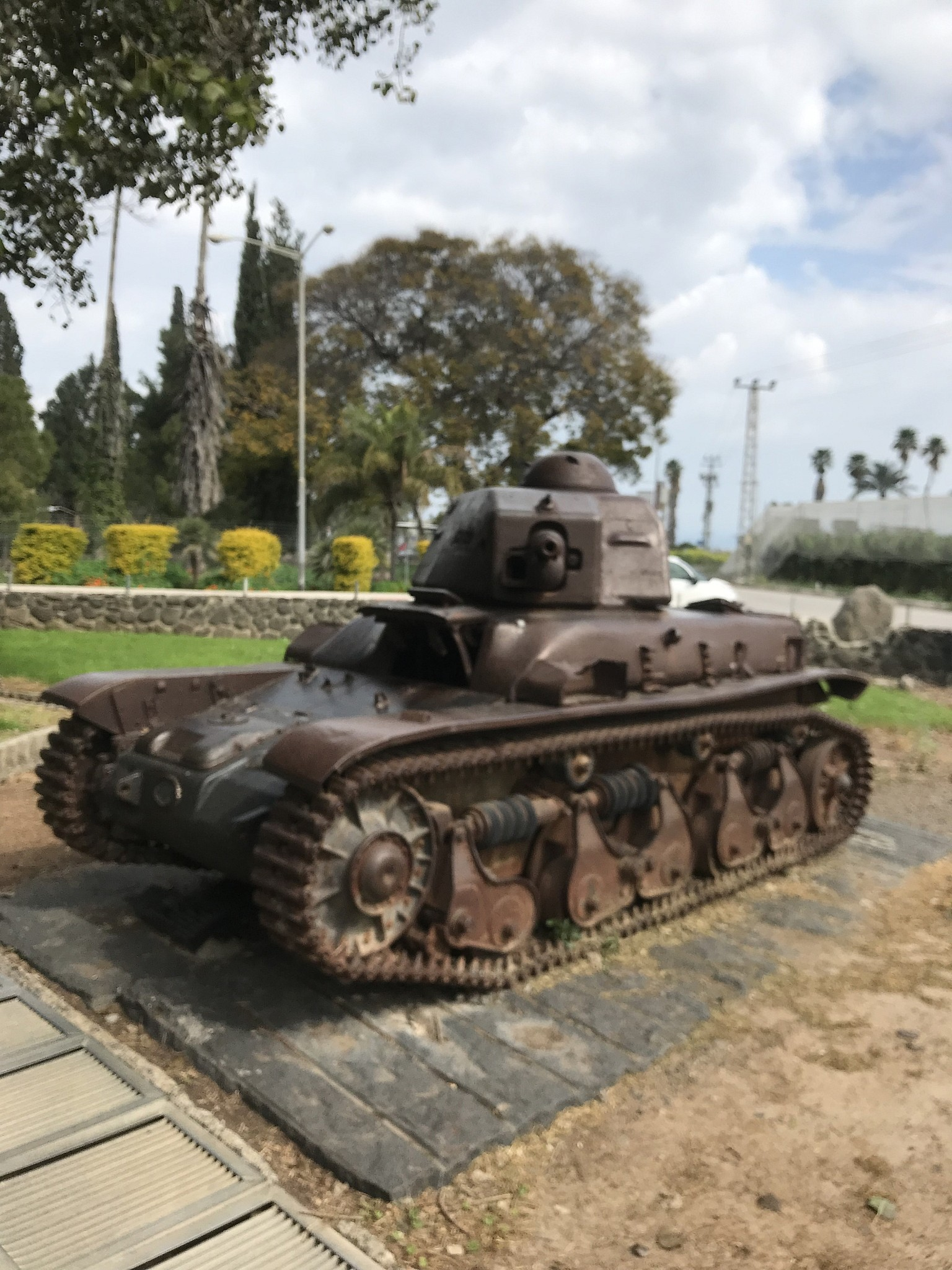 The Tank at the Gates of Degania | Bill Slott | The Blogs