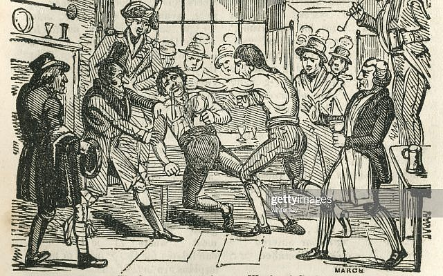 William Ward, who was convicted of the manslaughter in 1789 of his opponent Edwin Swain in an impromptu and illegal fight in an inn. He was fined one shilling and sentenced to be imprisoned for three months in Newgate Prison.
