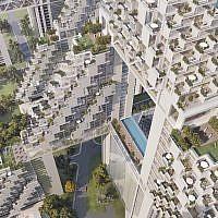 Habitat for the Future, 2018, Safdie Architects