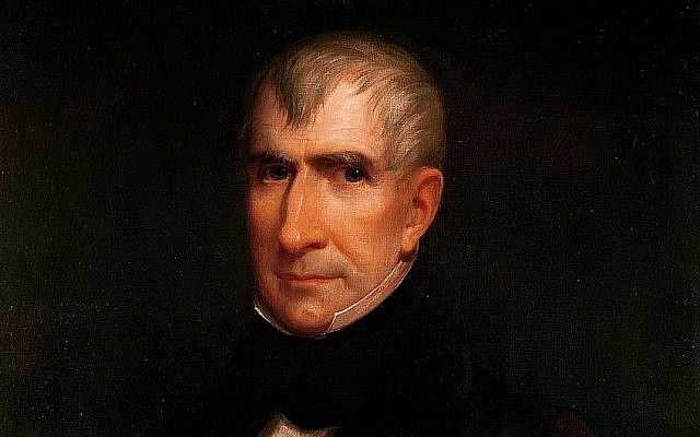 Official White House portrait of William Henry Harrison by James Reid Lambdin. (Public Domain/ Wikimedia Commons)