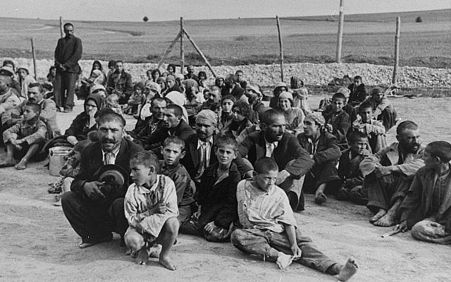 Roma prisoners  (Credit USHMM/ HMDT via Jewish News)