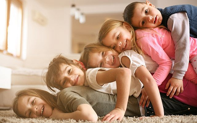 Illustrative. Children, at home. (iStock)