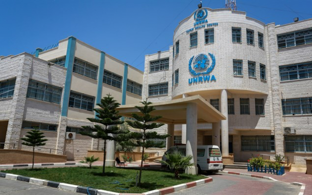 UNRWA Facilities in Southern Gaza. (Flash90)