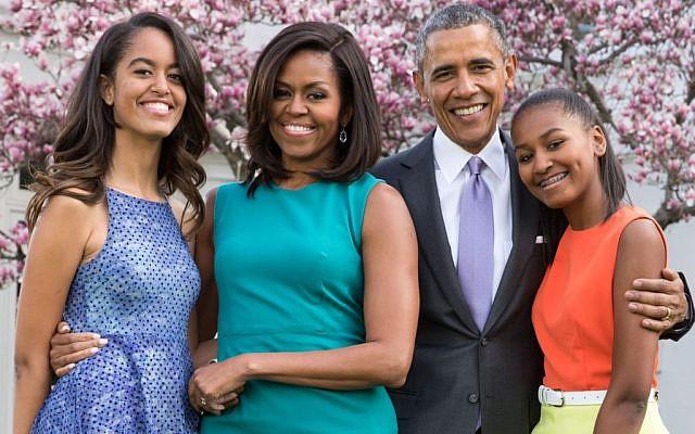 The Obamas. (via Twitter, October 5, 2015).