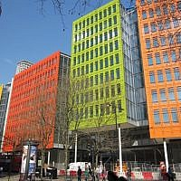 CentralSt. Giles Court, 2010, Renzo Piano and Fletcher Priest Architects.