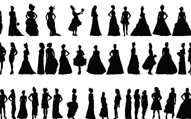 Illustrative. Silhouettes of women. (iStock)