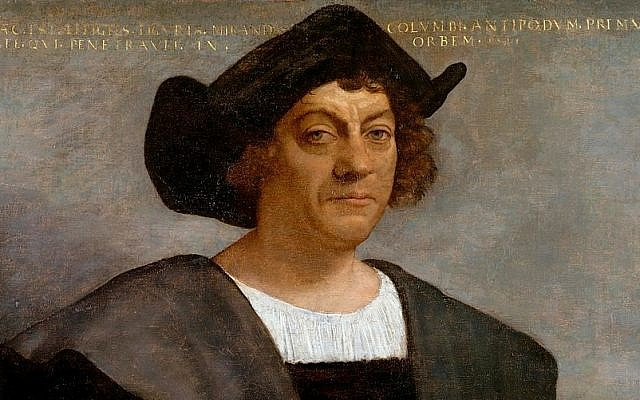 Portrait said to be of Christopher Columbus by Sebastiano del Piombo. (Public Domain/ Wikimedia Commons)