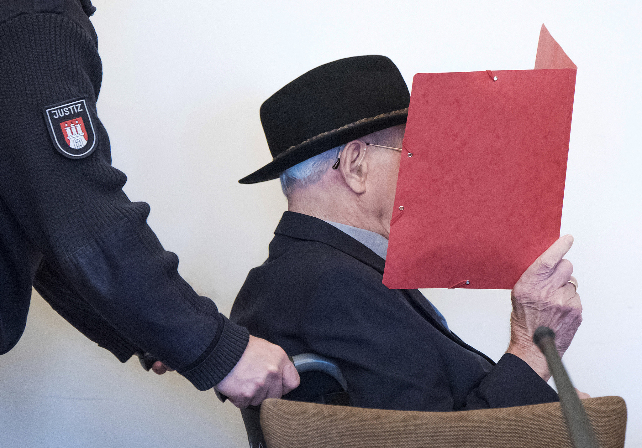 A 93-year-old Holocaust guard is tried in juvy court