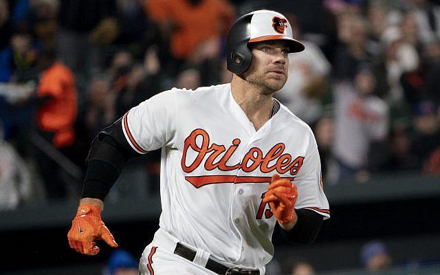Chris Davis of the Baltimore Orioles (Wikimedia).