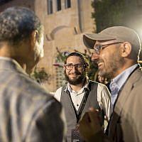 Yaakov Lehman and Zur Genosar speak to Fred Kofman