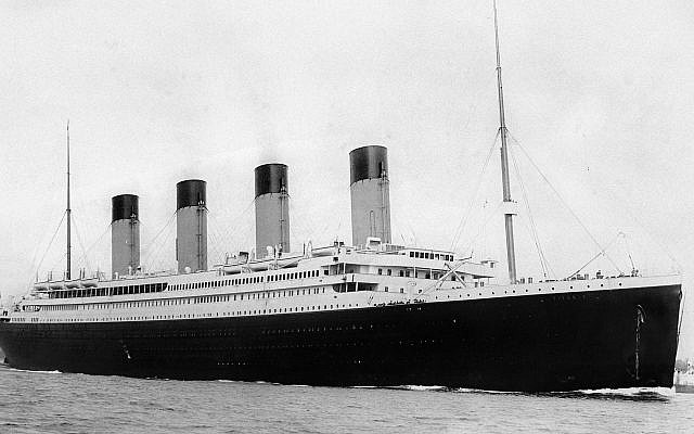 RMS Titanic departing Southampton on April 10, 1912. (Public Domain/ Wikimedia Commons)