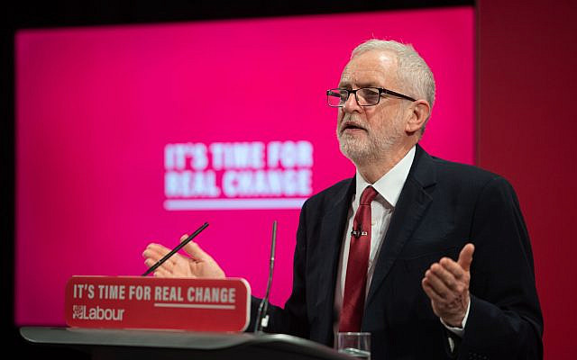 Labour Party leader Jeremy Corbyn at the launch of the Labour Party race and faith manifesto (Photo credit: Joe Giddens/PA Wire)