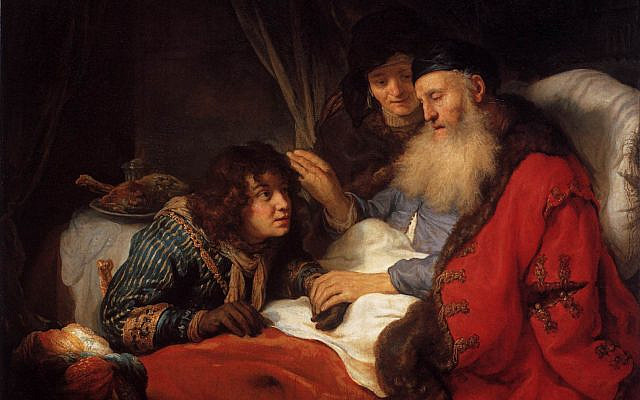 Illustrative. 'Isaac blessing Jacob,' by Govert Flinck. (Wikimedia Commons)