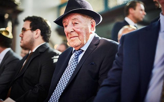 Max 'Nico' Leons, who saved hundreds of Jews during the Holocaust, including my father. (courtesy, Leons's family)