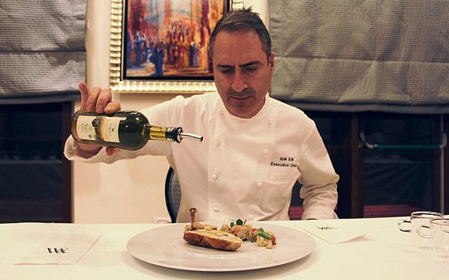 Chef Itzik Barak - Image courtesy of Waldorf Astoria Jerusalem
