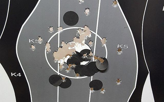 (Aharon Gottlieb, Shooting range's target)