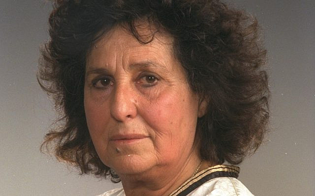 Geulah Cohen. (Wikipedia)