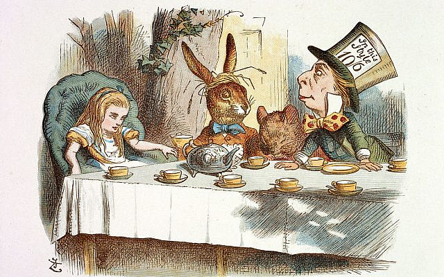 The Mad Hatter alludes to the hatters' syndrome which is caused by INORGANIC mercury poisoning  - NOT thimerosol illustrated John Tenniel