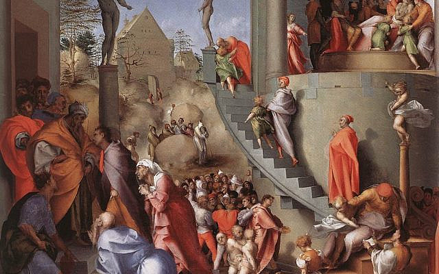'Joseph in Egypt,' by Jacopo Pontormo, between 1515 and 1518. (Wikimedia Commons)