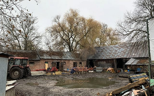 The barn as it stands today. (courtesy)