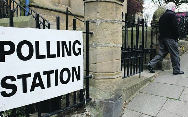 Polling station (Jewish News)